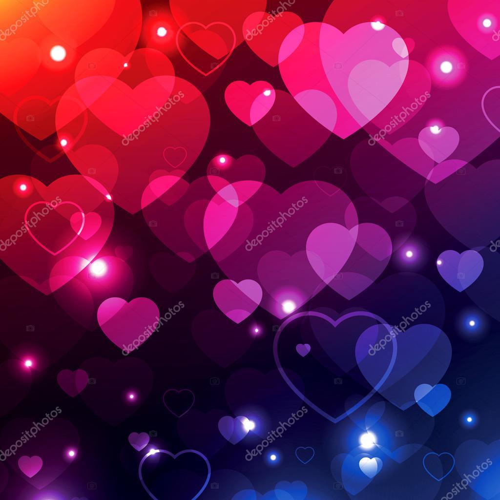 Fondo de San Valentín, fondos de corazones, amor textura