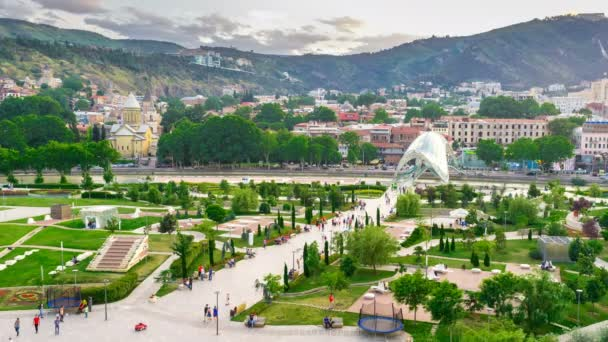The walk in Tbilisi