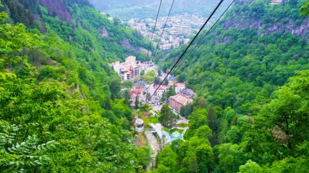 The cableway in Borjomi