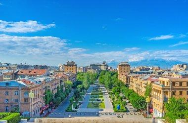 Yerevan from the top