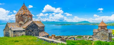 The view from Sevan Peninsula