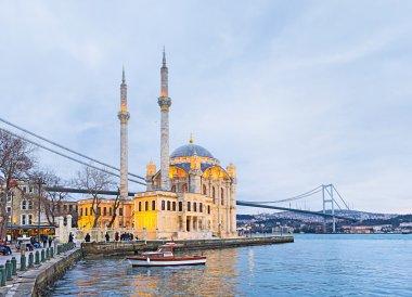 The mosque on Bosphorus