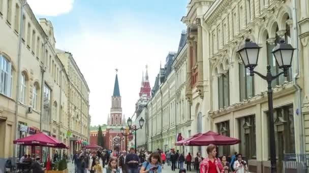 The way to the Red Square