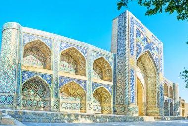 Panorama of the madrasah