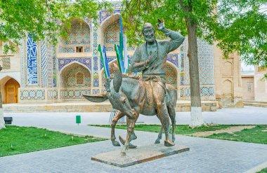The monument to Nasreddin Hodja