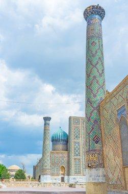 The minarets