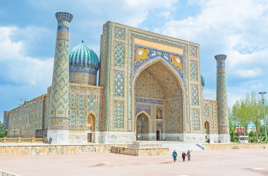 The proud of Samarkand