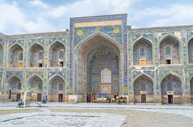 Walking in madrasah
