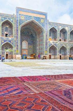 The carpets