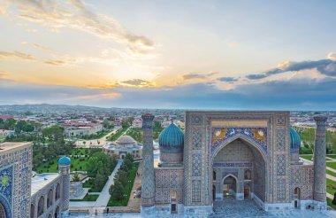 The sunrise in Samarkand
