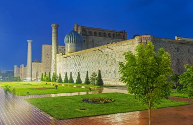 The twighlights in Samarkand