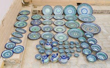 The Uzbek ceramic