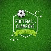 Fotografia Manifesto di gioco del calcio di calcio