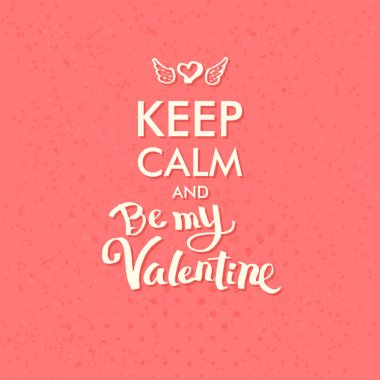 Valentine Concept on Abstract Pink Background
