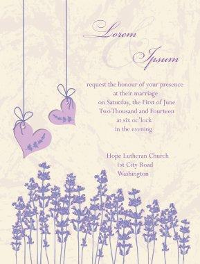 Wedding invitation card, flyer design, packaging design