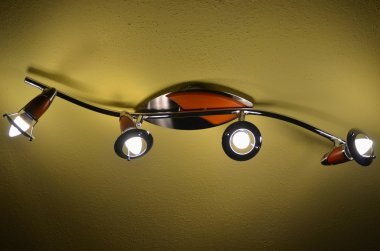 home ceiling light with LED bulbs