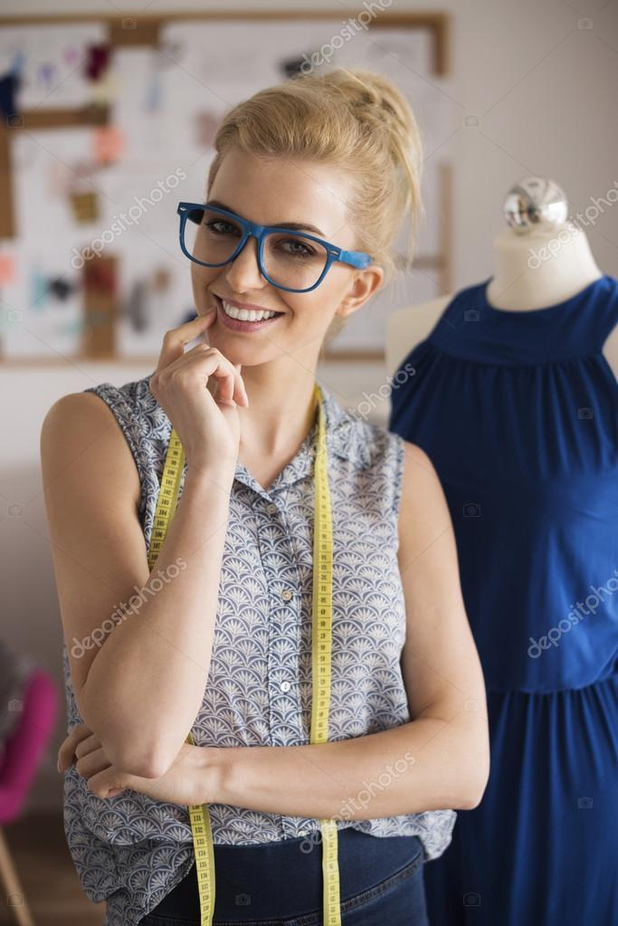 Fashion Designer During Work Stock Photo C Gpointstudio 109284824