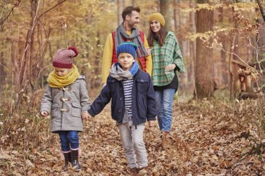 Family should find little time for walk