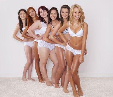 Beautiful teenage girls