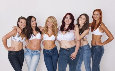 We love wearing jeans so much!