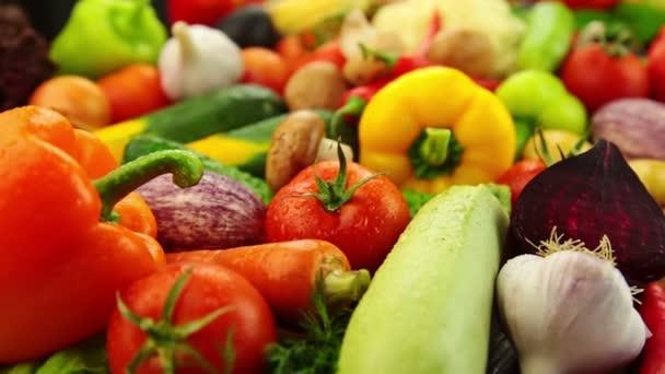 Čerstvé umyté zeleniny