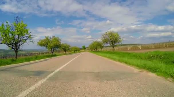 Malá cesta v oblasti Moravy