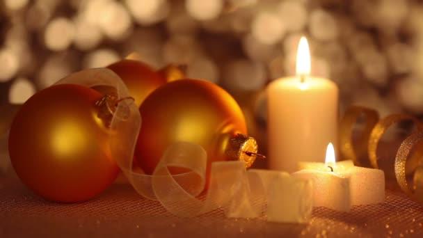 Zátiší z vánoční ozdoby. Bezešvá smyčka