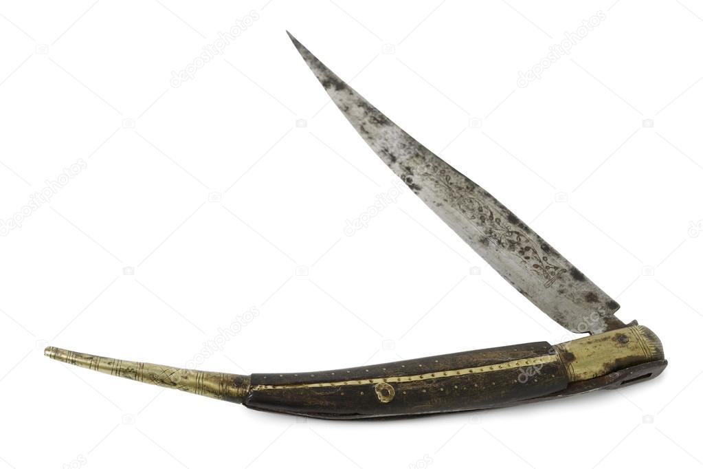 Old Pocket Knife — Stock Photo © carlos_velayos #72087021