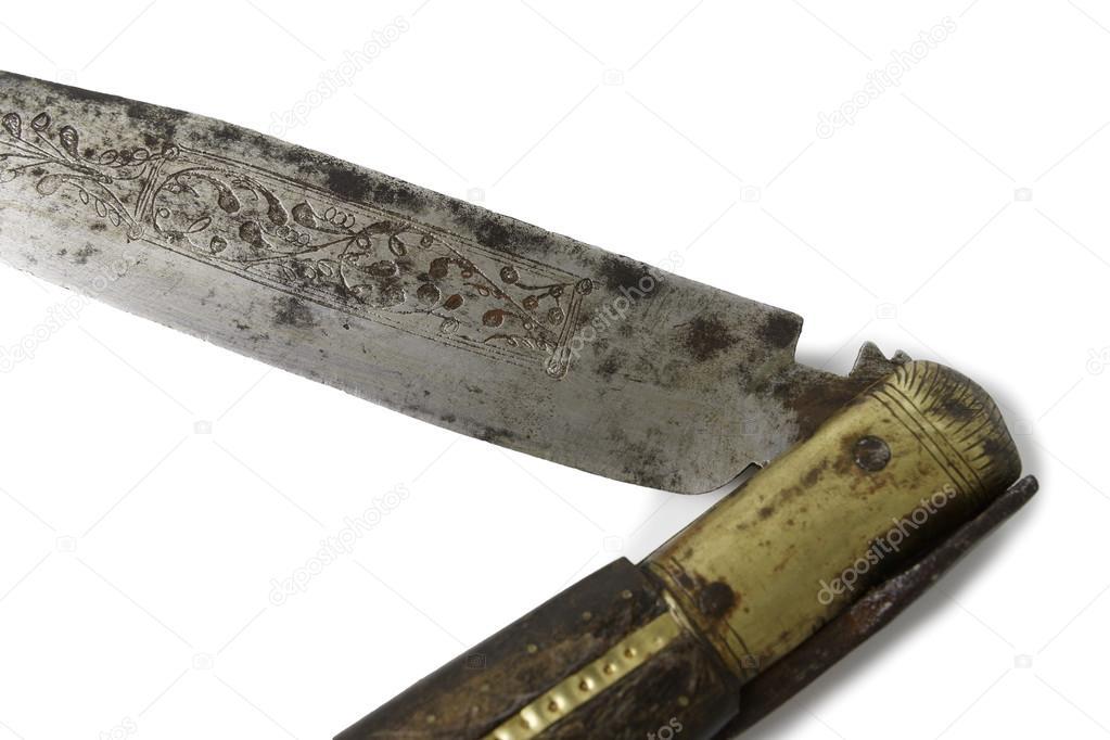 Old Pocket Knife — Stock Photo © carlos_velayos #72087041