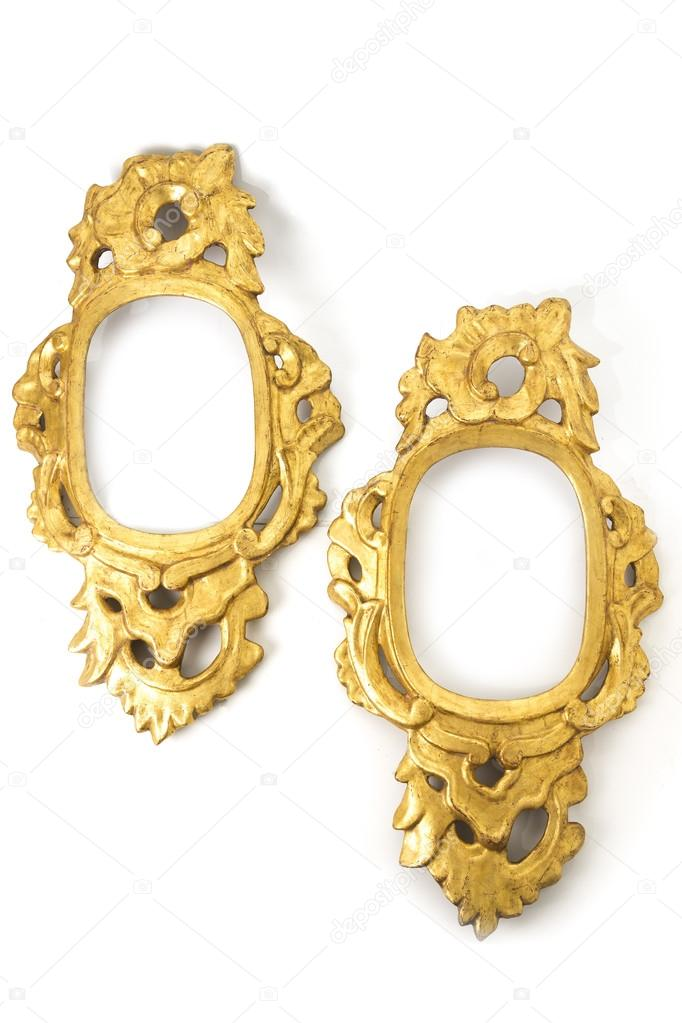 Old Mirror Frame — Stock Photo © carlos_velayos #72264537