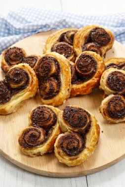 Palmier biscuits - french dessert