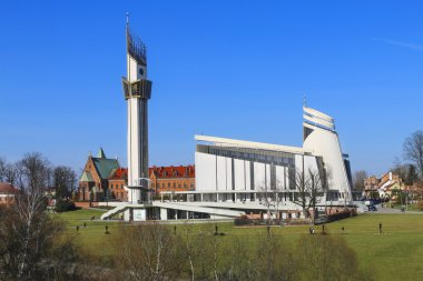 The Divine Mercy Sanctuary, , Krakow, Poland.