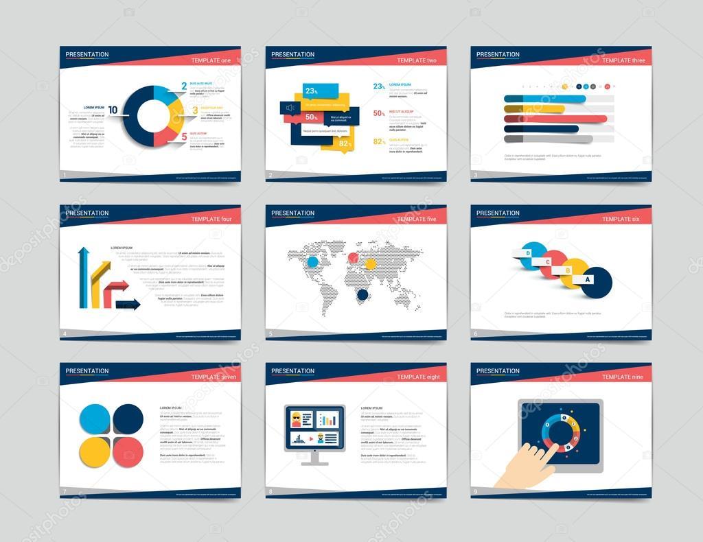 Präsentationsvorlagen Geschäft. Infografiken für Broschüre, Plakat ...