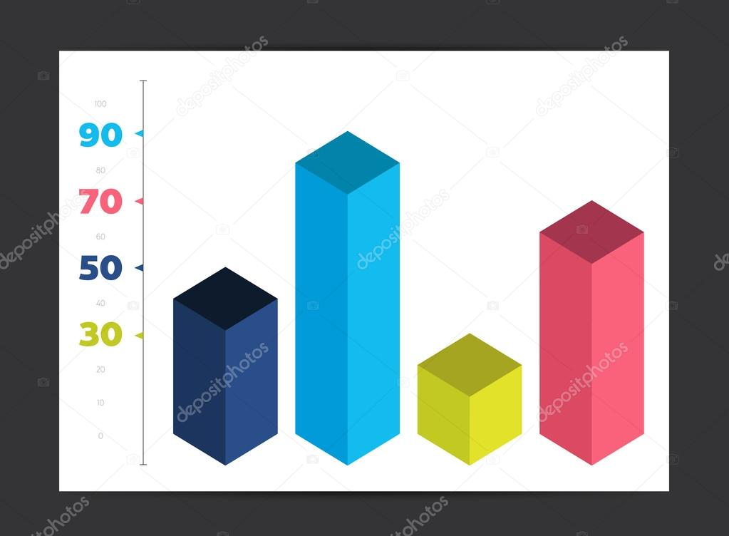 Infographic 3d cube diagram chart graph graphic element can be infographic 3d cube diagram chart graph graphic element can be used for brochure layout ccuart