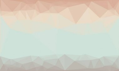 Light pastel background with abstract geometric pattern stock vector