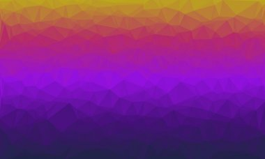 Abstract colorful polygonal background in purple and pink colors stock vector
