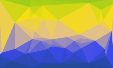 Bright abstract colorful polygonal background stock vector
