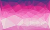 Kreatív sokszögű háttér rózsaszín és lila mintával