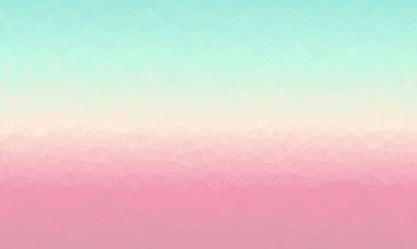 Minimal pastel multicolored polygonal background stock vector
