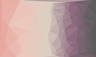 Creative purple pink background with polygonal pattern stock vector