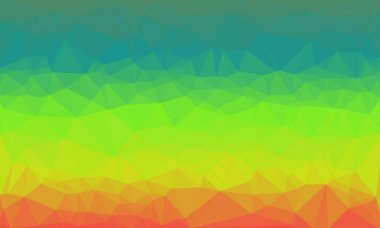 Creative background with polygonal prismatic pattern stock vector