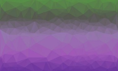 Abstract geometric background with purple and green colors stock vector