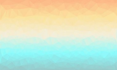 Minimal multicolored pastel polygonal background stock vector