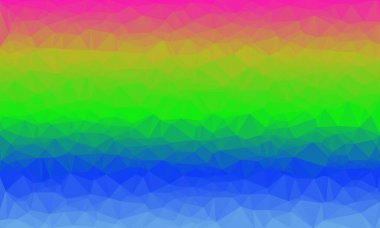 Creative prismatic background with polygonal pattern stock vector