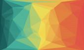 kreativní hranolové pozadí s polygonálním vzorem