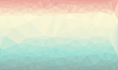 Abstract geometric background with pastel colors stock vector