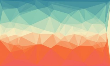 Colorful geometric background with mosaic design stock vector