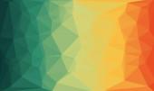 minimális többszínű poligonális háttér