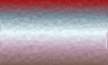 Abstract polygonal background in purple, blue and burgundy colors stock vector