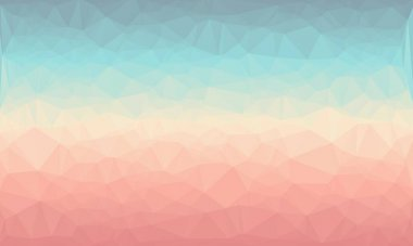 Abstract multicolored background with poly pattern stock vector